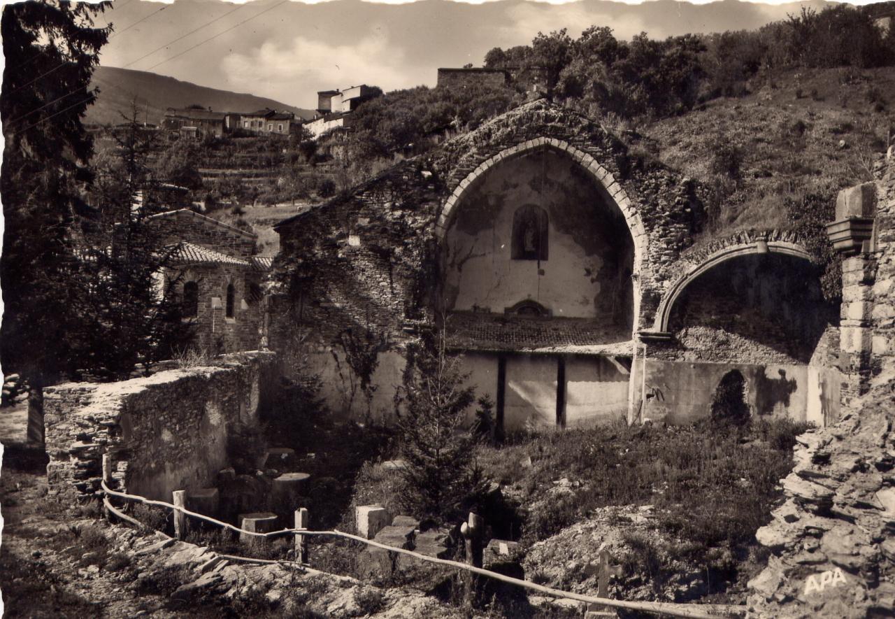 AE Ruines 1950