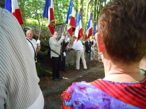 ceremonie stele à Lebrat 356