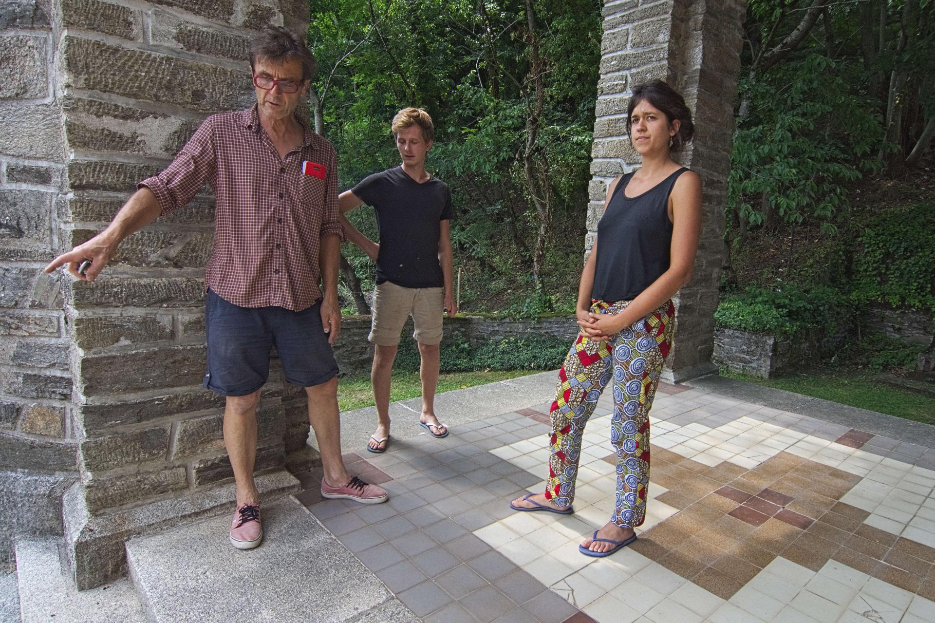 Pierre, Nausicaa et Clément