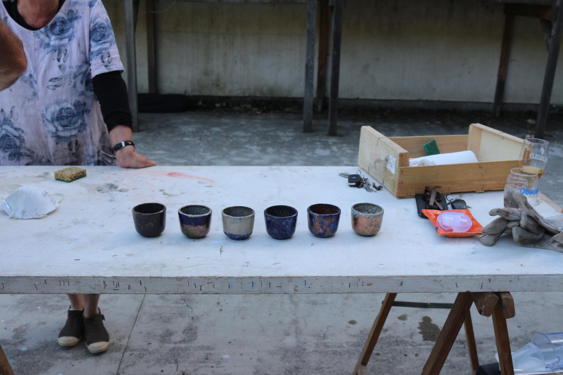 Les poteries
