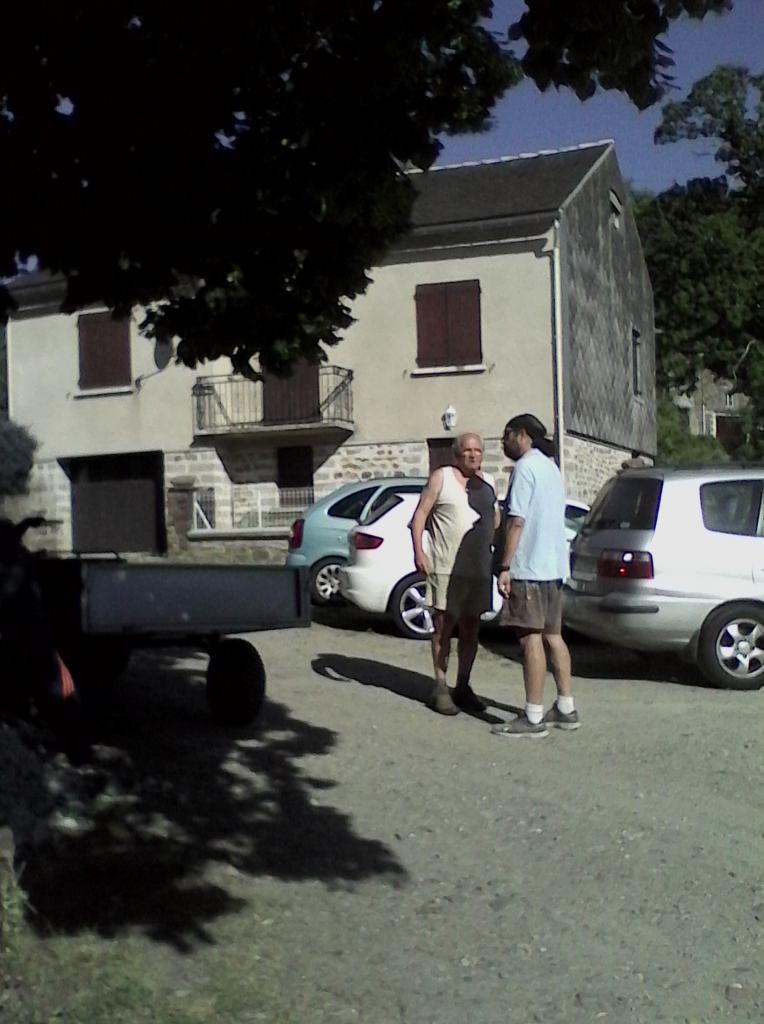 Alain et son quad