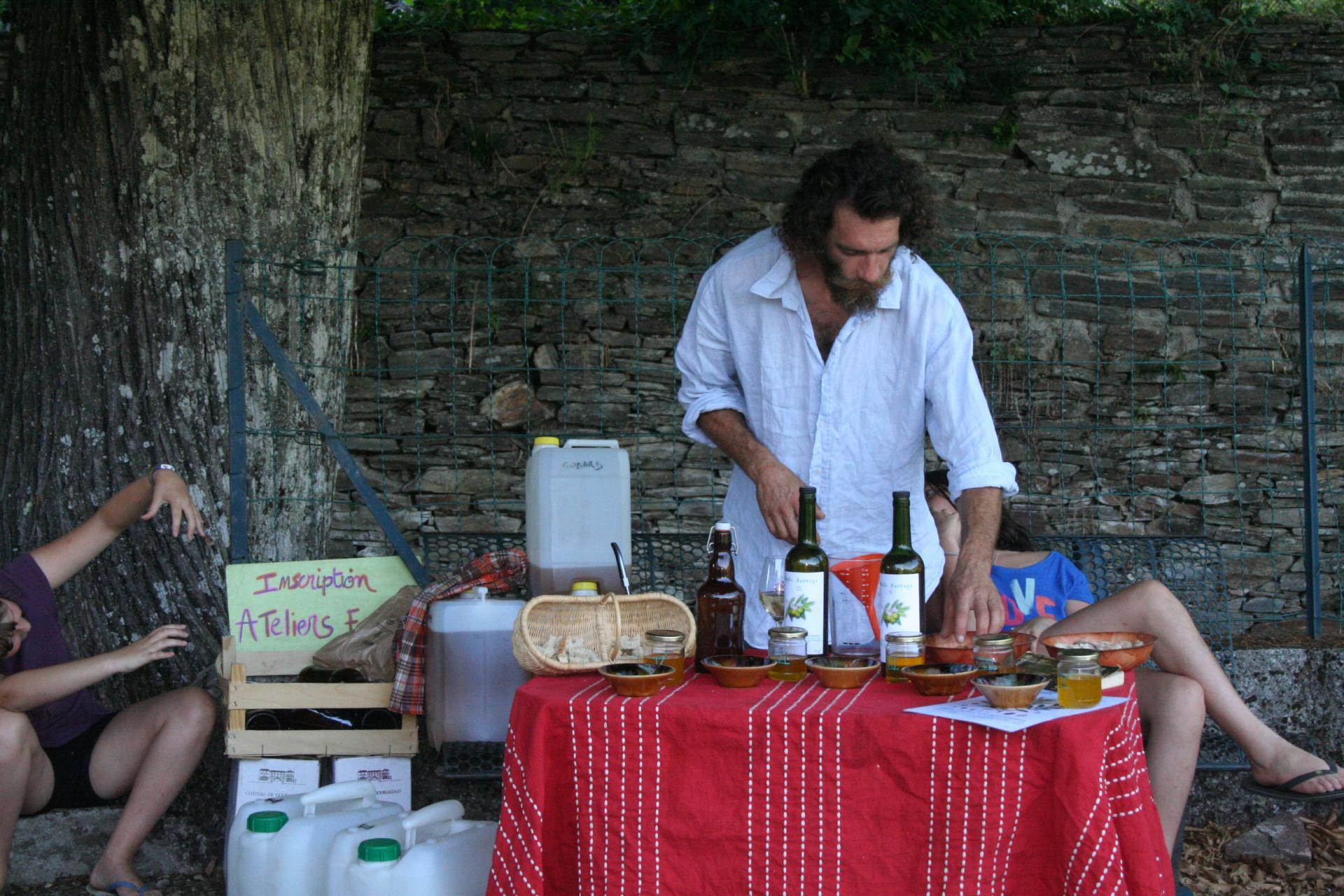 Germain et son Huile d'olive
