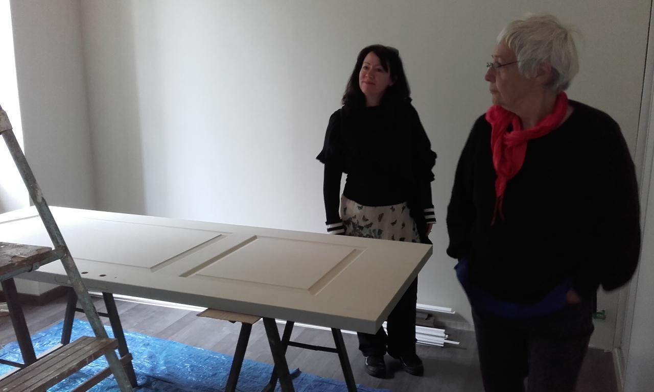 Alexis et Bernadette INspectent