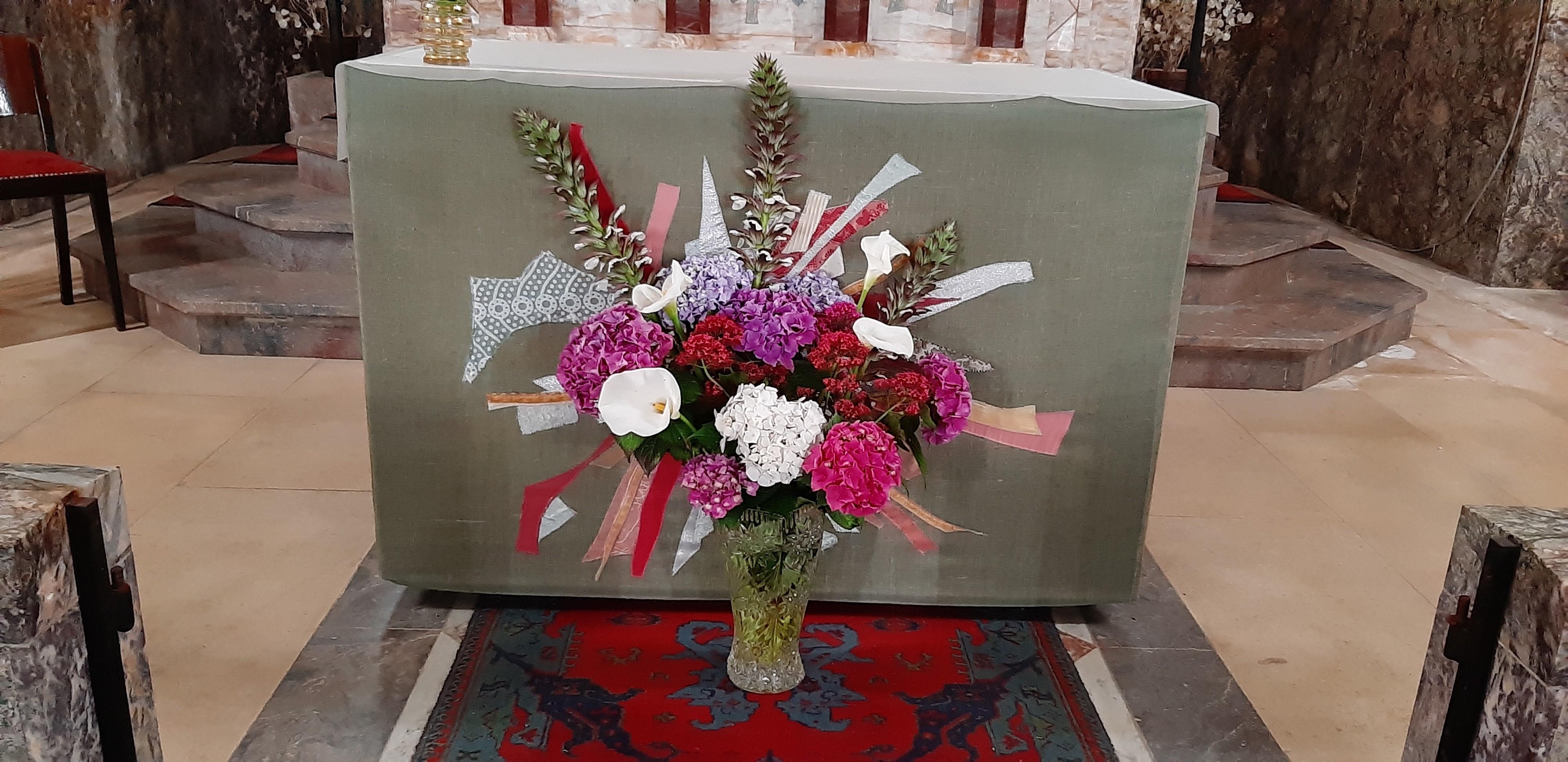 Bouquets a l eglise 3