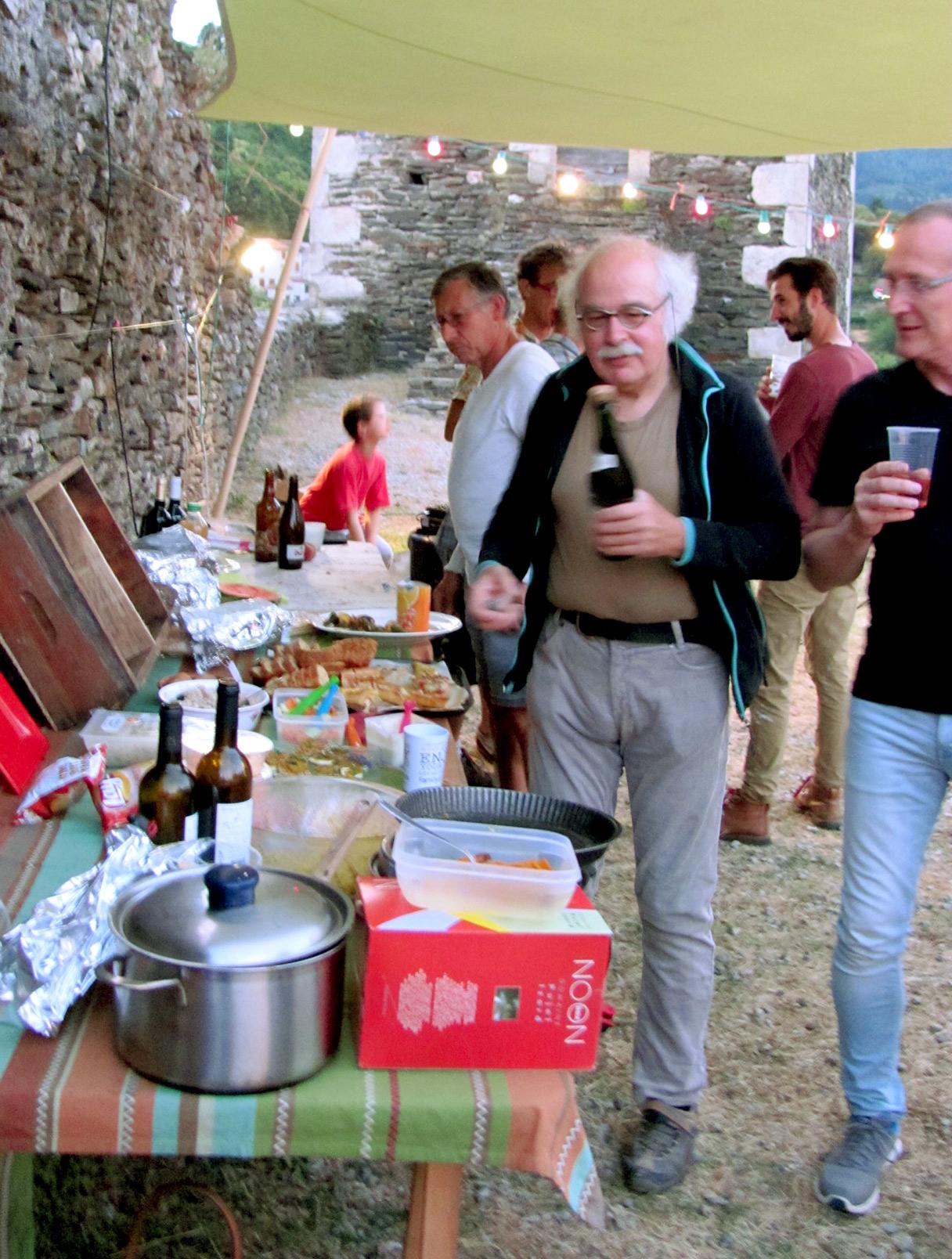 Repas au Château