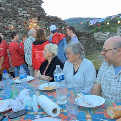 2016 Repas au Château