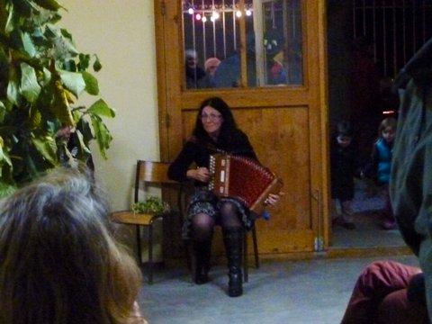 La musicienne Hélène