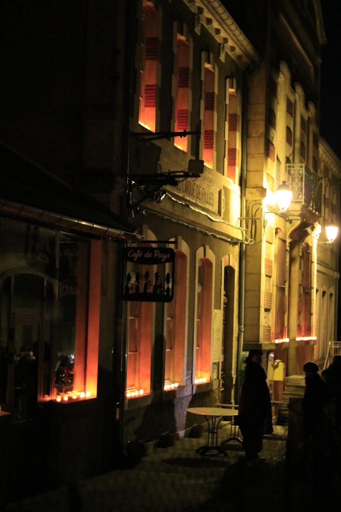 Devant La Mairie