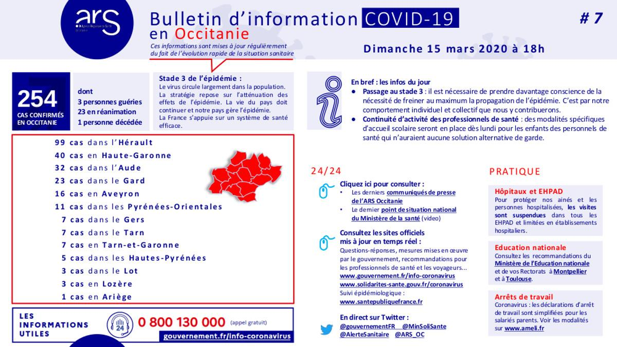 Arsoc covid 19 bulletininfo7 20200315